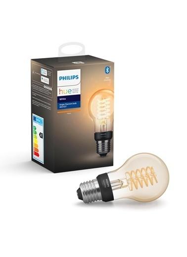 Philips Hue Filament A60 E27 Duylu Bluetooth Özellikli Sarı Işıklı Ampul Sarı